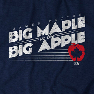 Big Maple in the Big Apple