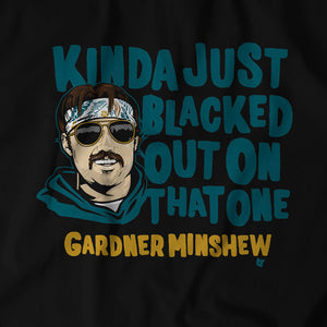 Gardner Minshew Blacked Out