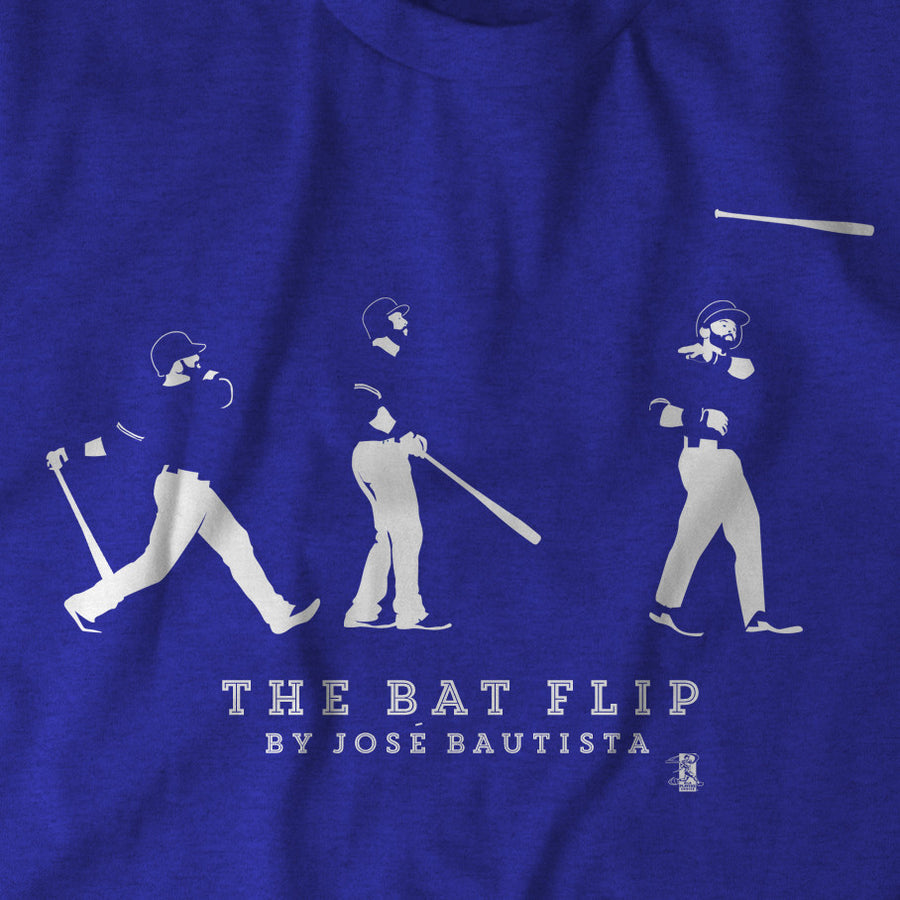 The Bautista Bat Flip - BreakingT