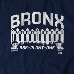 Bronx Yard Work
