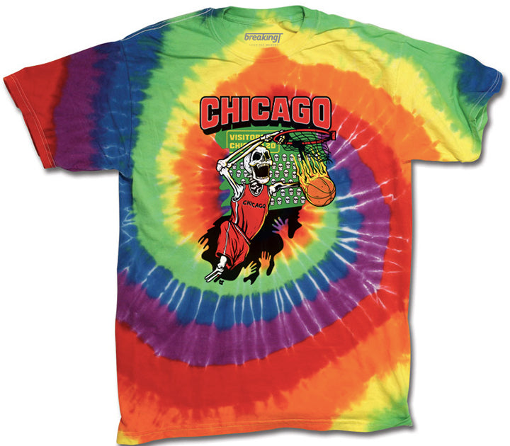 Chicago Tie-Dye Basketball
