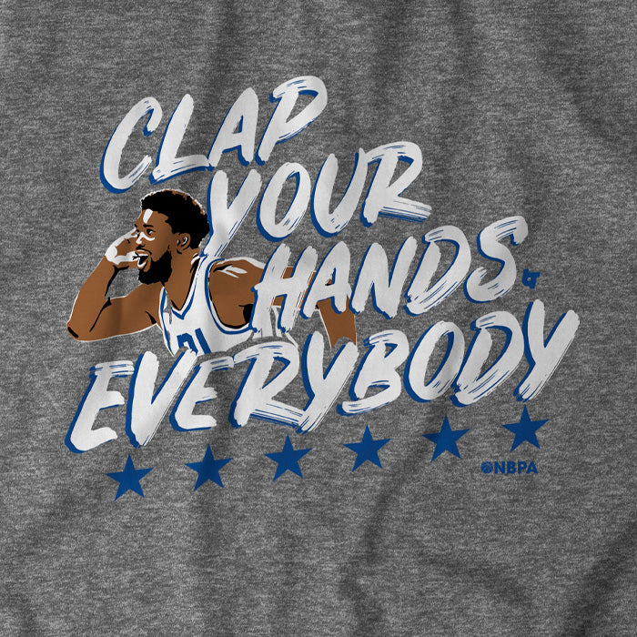 Clap Your Hands Everybody
