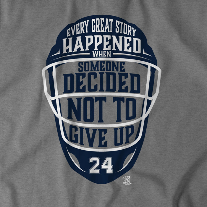 Decide Not To Give Up