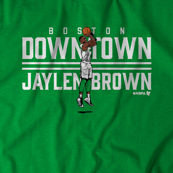 Downtown Jaylen Brown