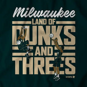 Land of Dunks and Threes