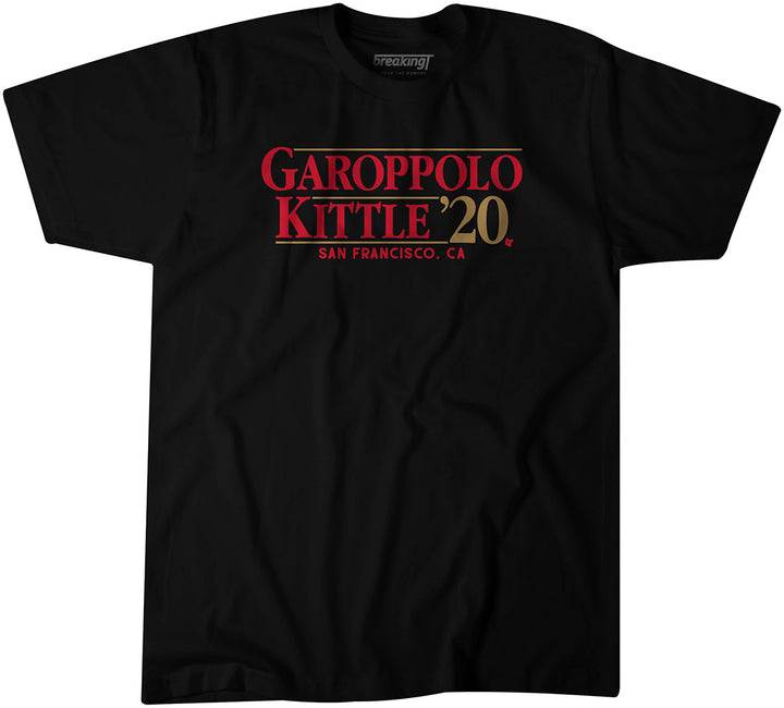 Jimmy Garoppolo & George Kittle 2020