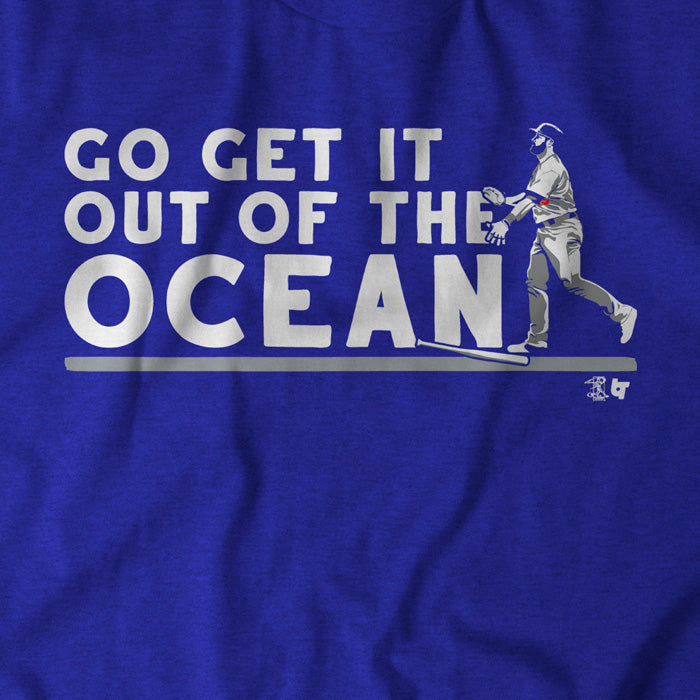 Max Muncy: Go Get it Out of the Ocean