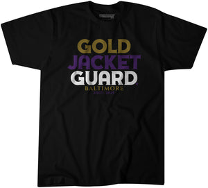 Gold Jacket Guard