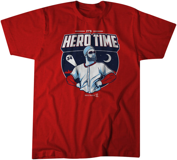 Bryce Harper, It's Hero Time - BreakingT