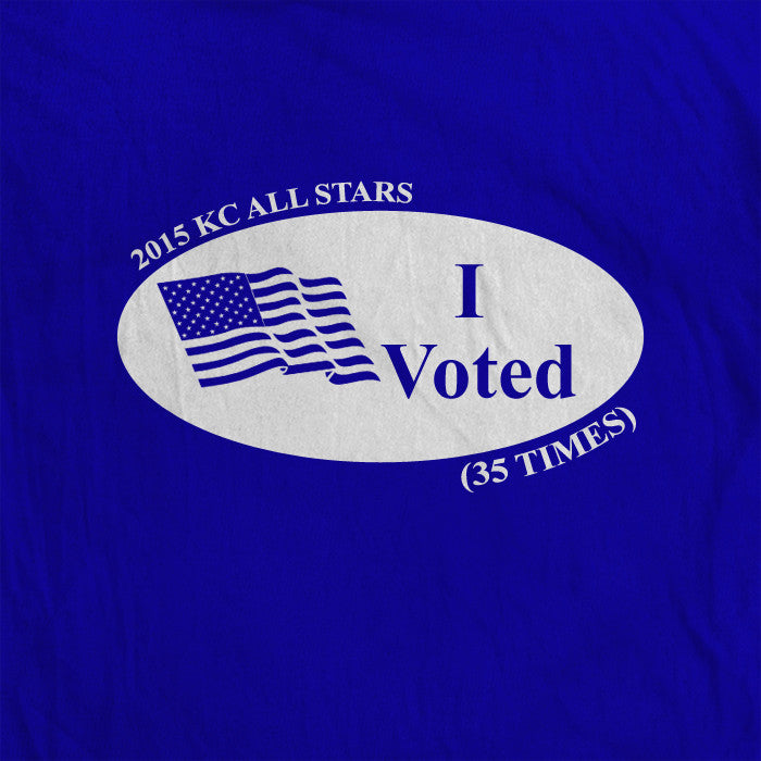 I Voted 35 Times