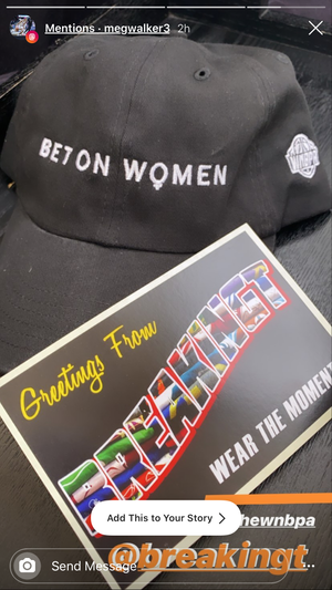 Bet On Women Hat