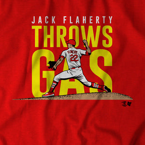 Jack Flaherty Throws Gas