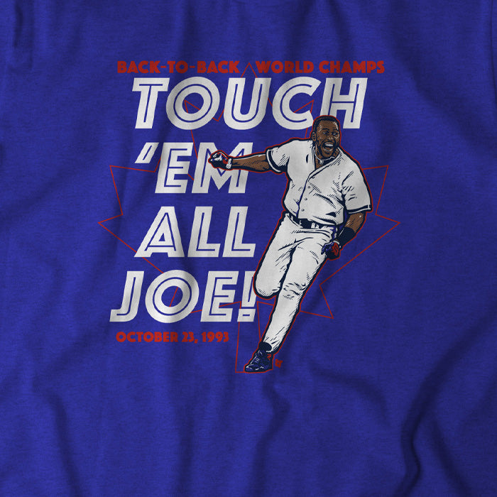 Joe Carter: Touch 'Em All