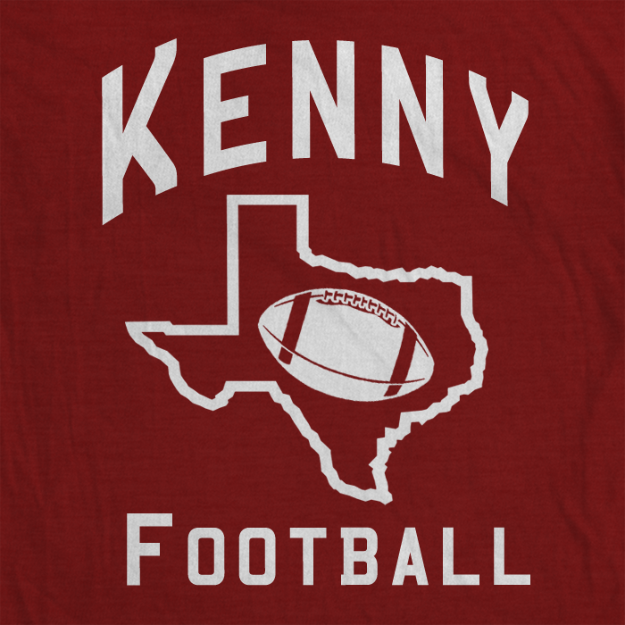 Kenny Football - BreakingT