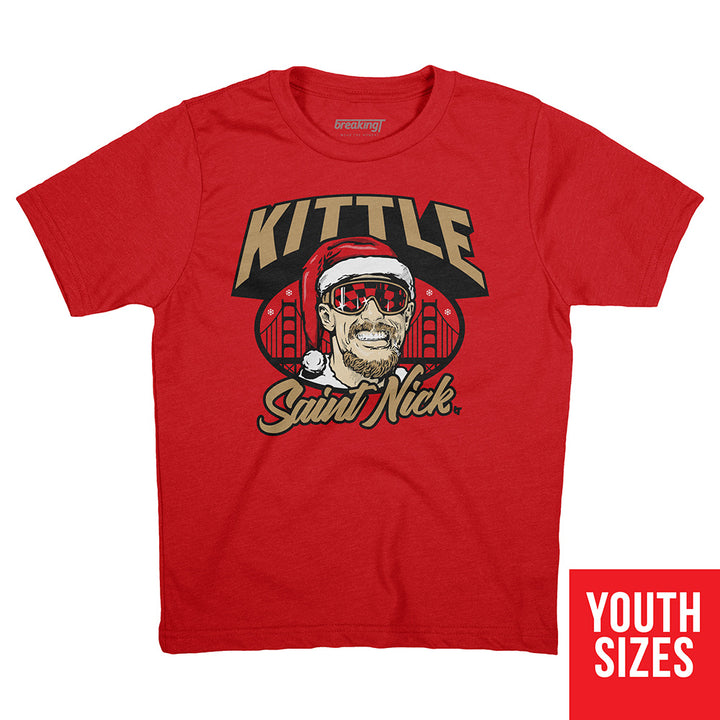 George Kittle: Kittle Saint Nick