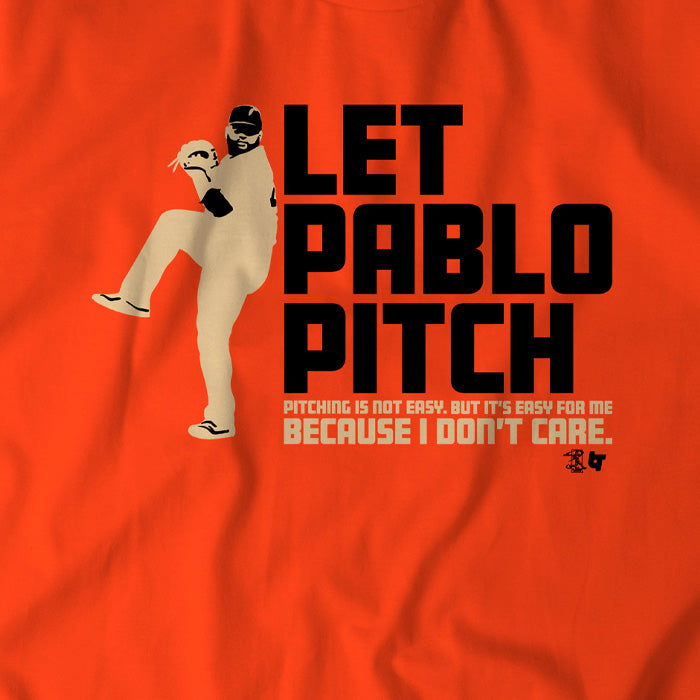 Let Pablo Pitch 2019