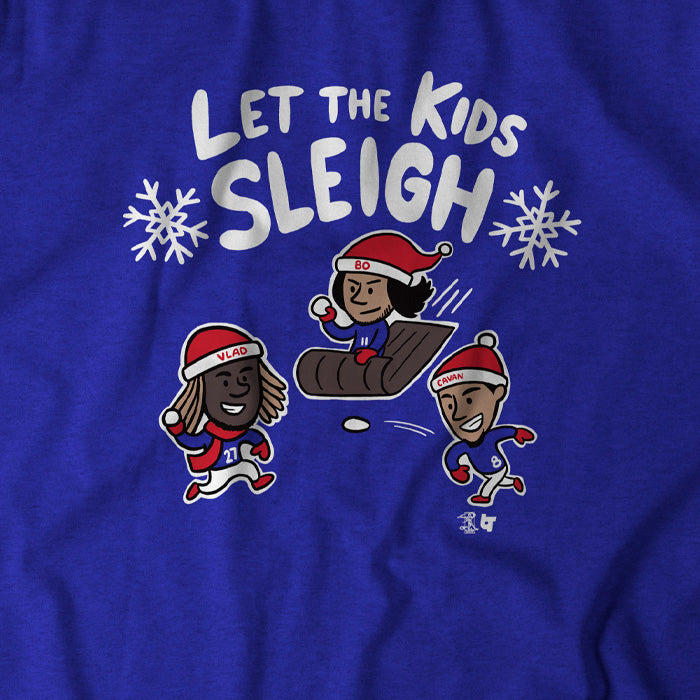 Let The Kids Sleigh