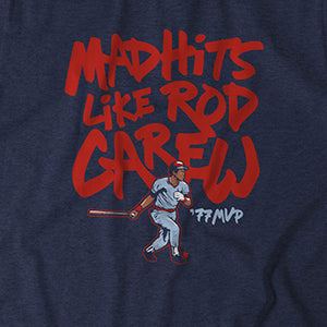 Mad Hits Like Rod Carew