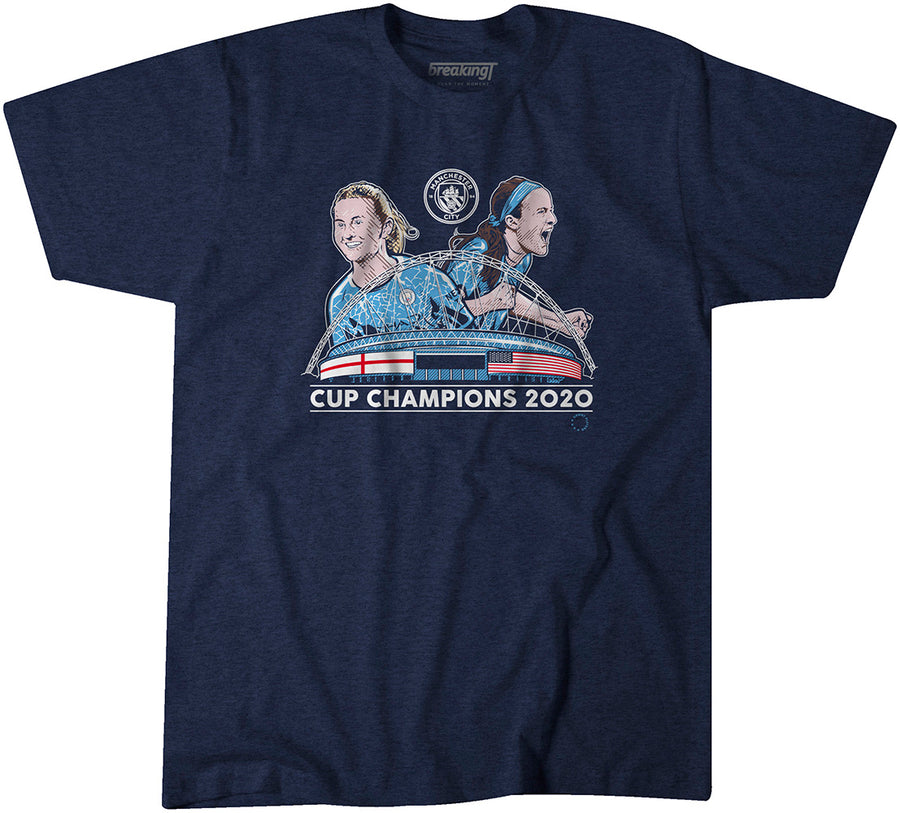 Man City 2020 Cup Champions