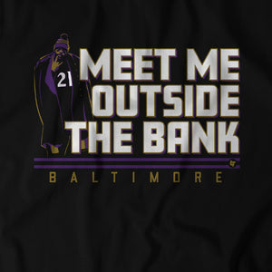 Mark Ingram: Meet Me Outside the Bank