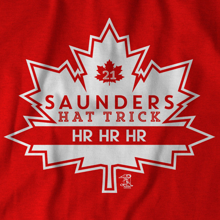 Saunders Hat Trick - BreakingT