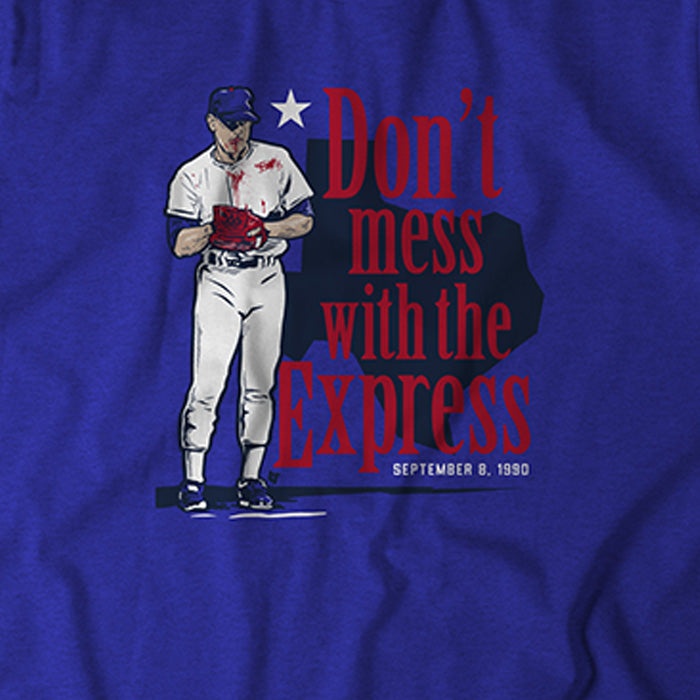 Nolan Ryan: Don't Mess With The Express