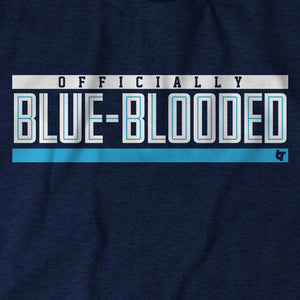 Officially Blue-Blooded