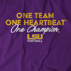 One Team, One Heartbeat, One Champion