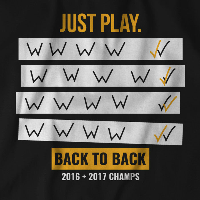 Just Play, Back to Back