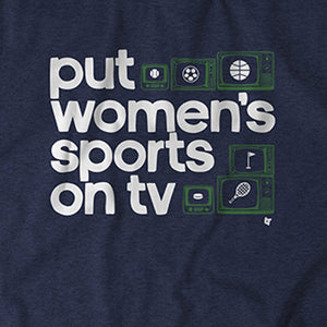 Put Women's Sports on TV