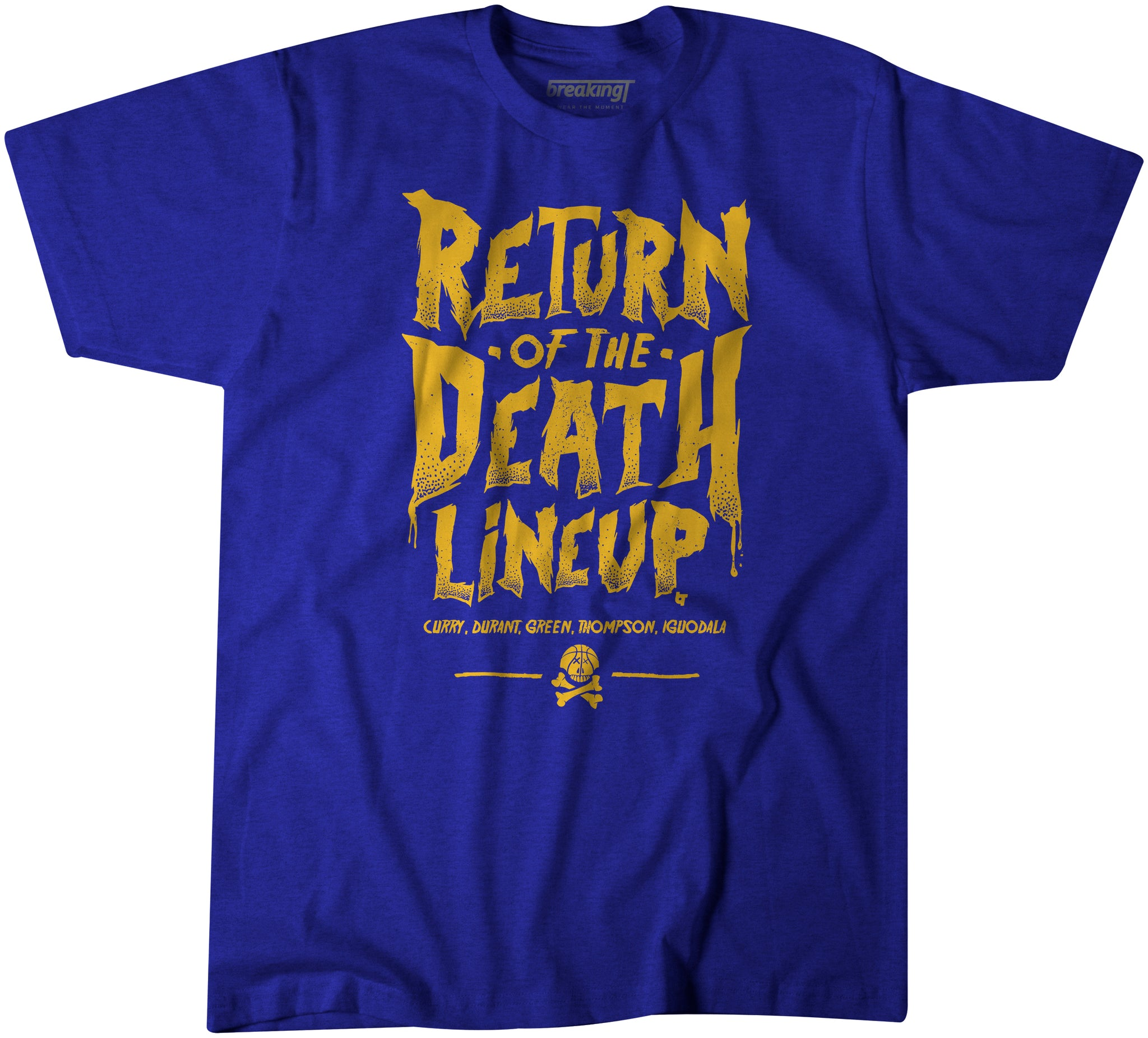 competitive price 01f52 fd328 Return of the Death Lineup