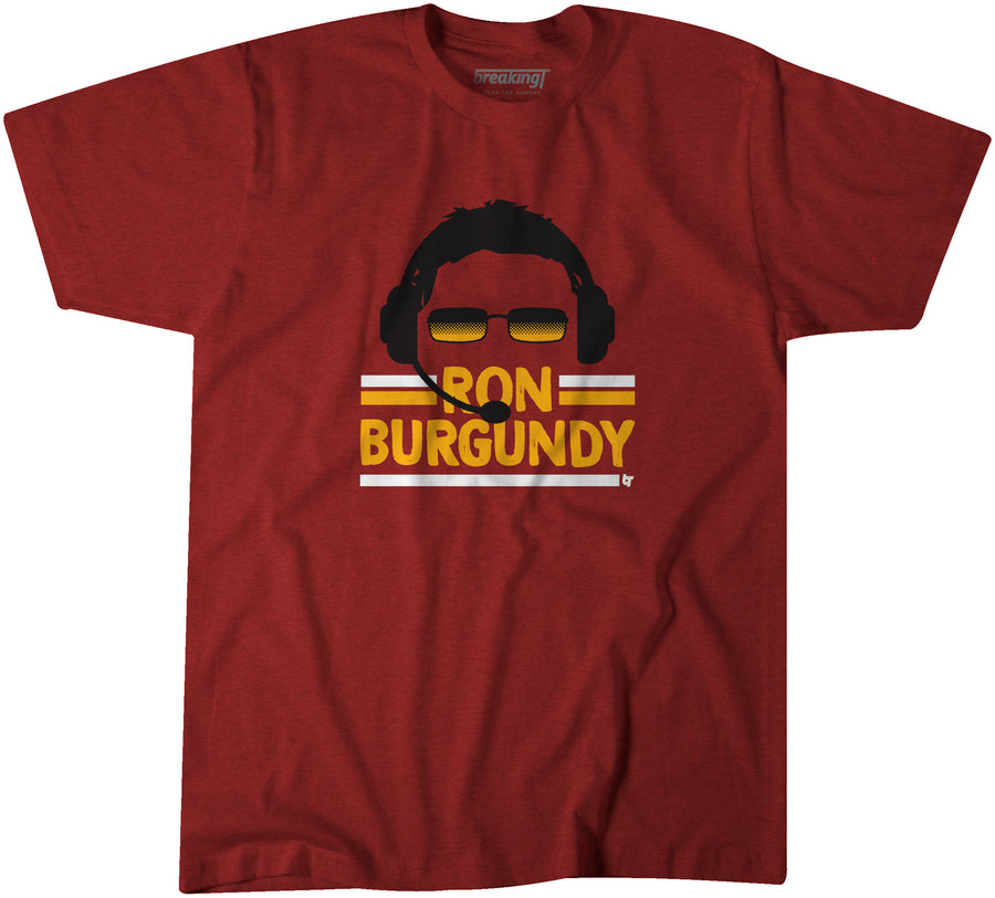 Ron Burgundy & Gold
