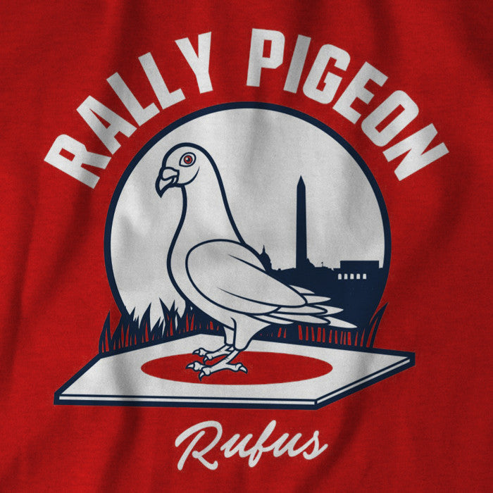 Rufus the Rally Pigeon