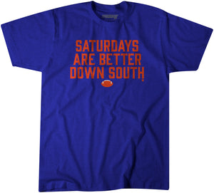 Saturdays Are Better Down South: Blue