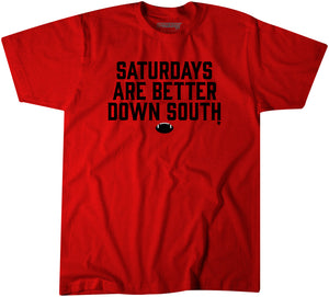 Saturdays Are Better Down South: Red