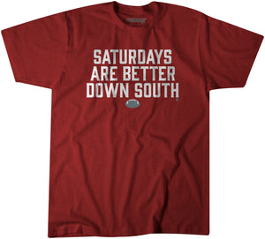 Saturdays Are Better Down South: Crimson