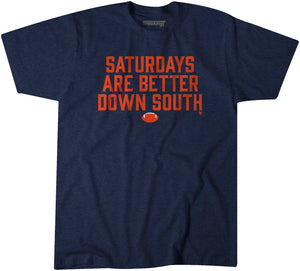 Saturdays Are Better Down South: Navy