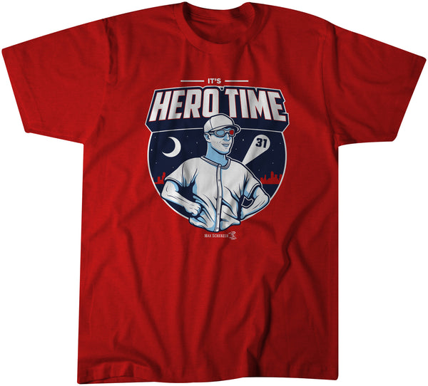 Max Scherzer, It's Hero Time - BreakingT