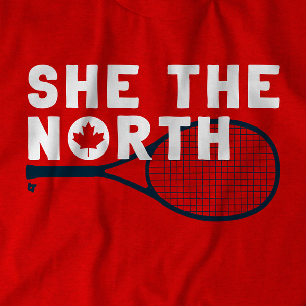 Golf San Antonio >> She The North Shirt - Canadian Tennis - BreakingT