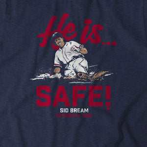 Sid Bream: He is... Safe!