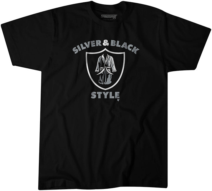Silver & Black Style