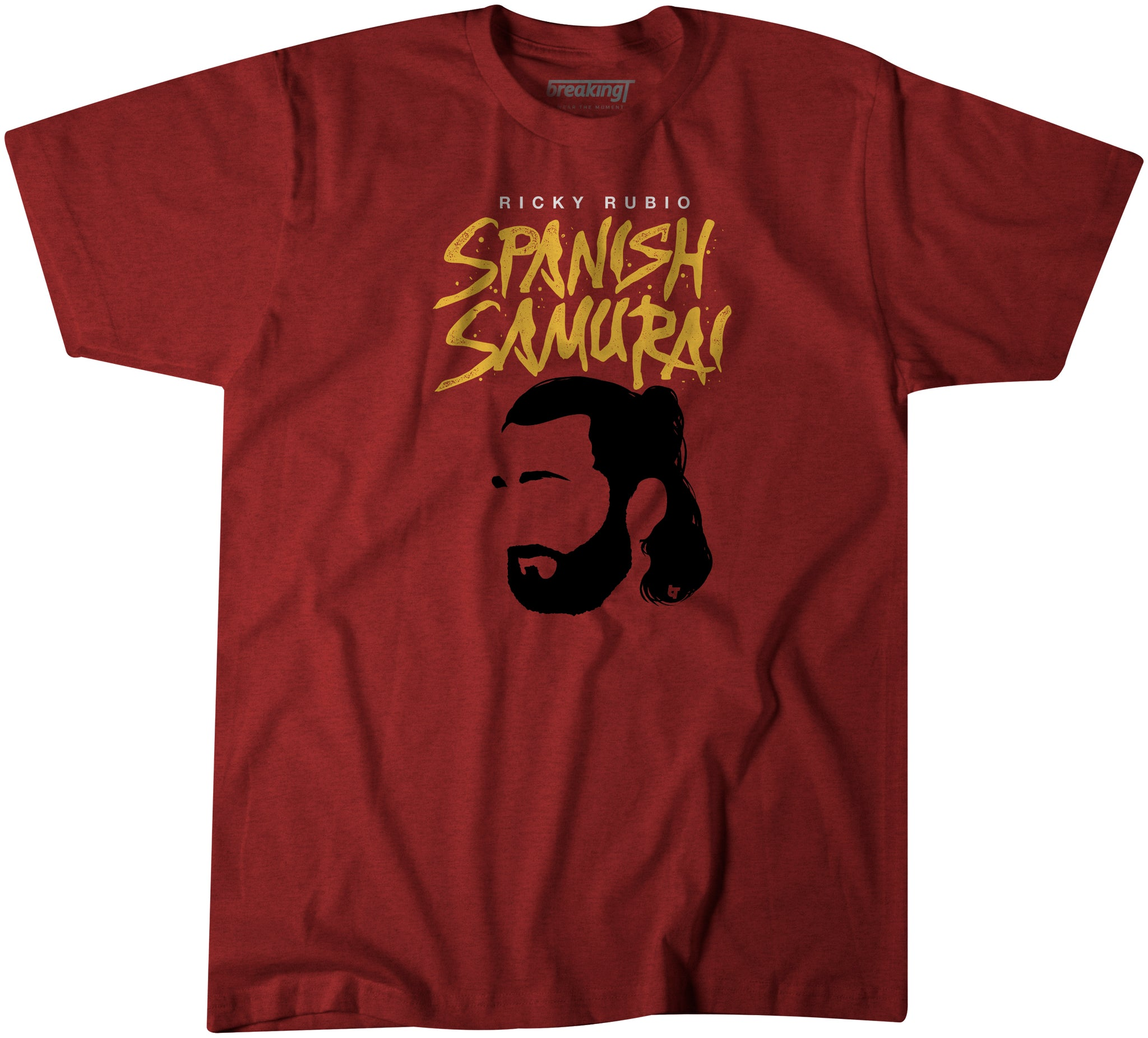 c4802285 Ricky Rubio Shirt, Spanish Samurai - BreakingT