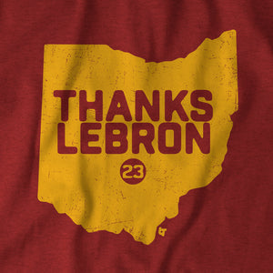 Thanks, LeBron