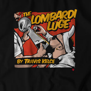 The Lombardi Luge by Travis Kelce