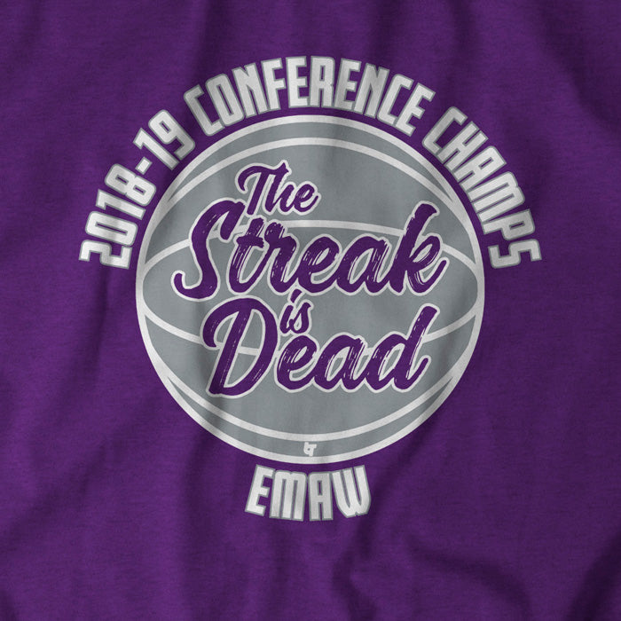 The Streak Is Dead