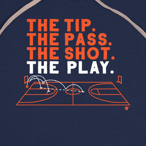 The Tip. The Pass. The Shot. The Play.
