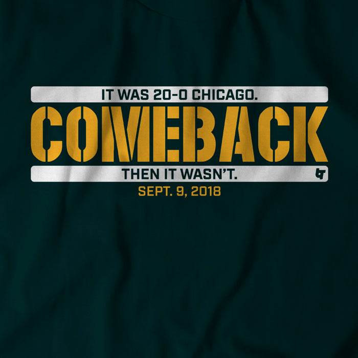 Green Bay Comeback