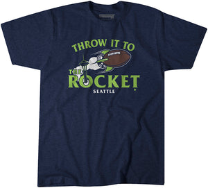 Throw It to the Rocket