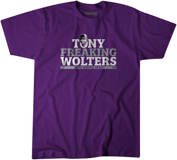 Tony Freaking Wolters