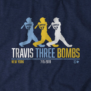Travis Three Bombs
